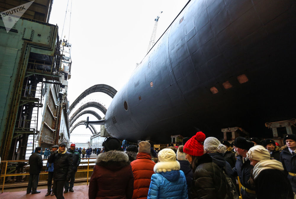 الغواصة النووية الاستراتيجية الجديدة كنياز فلاديمير (الأمير فلاديمير)
