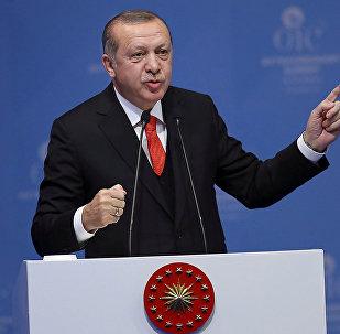 الرئيس التركي رجب طيب أردوغان في اسطنبول، تركيا 13 ديسمبر/ كانون الأول 2017