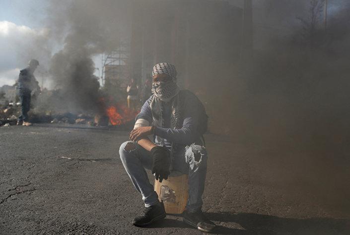 احتجاجات رام الله