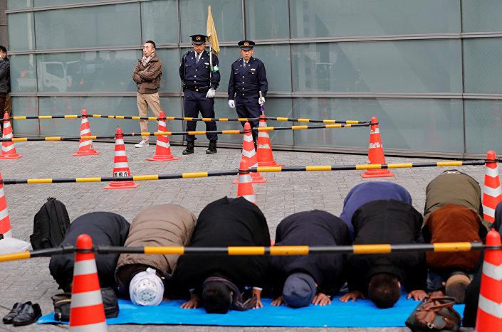 احتجاجات طوكيو ضد قرار ترامب