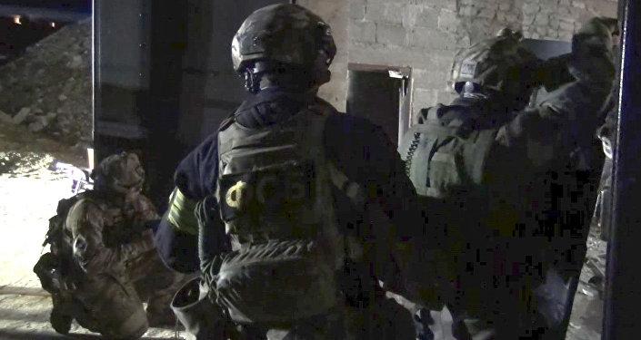 قوى الأمن تنفذ عملية أمنية في داغستان
