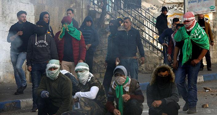 احتجاجات الخليل 15 ديسمبر 2017