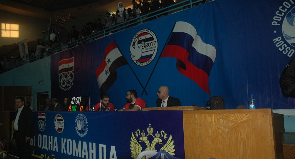 بالصور   الكرنفال الروسي – السوري لكرة السلة في دمشق