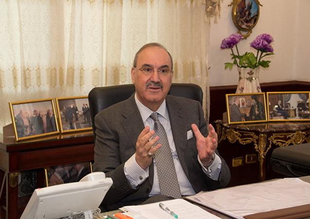 السفير العراقي بالقاهرة