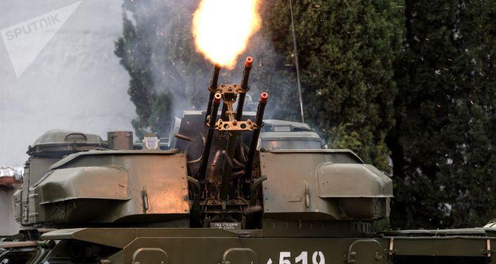 مدفع ذاتي الحركة مضاد للأهداف الجوية