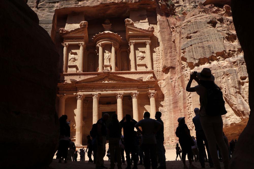 المدينة الأثرية البتراء، الأردن