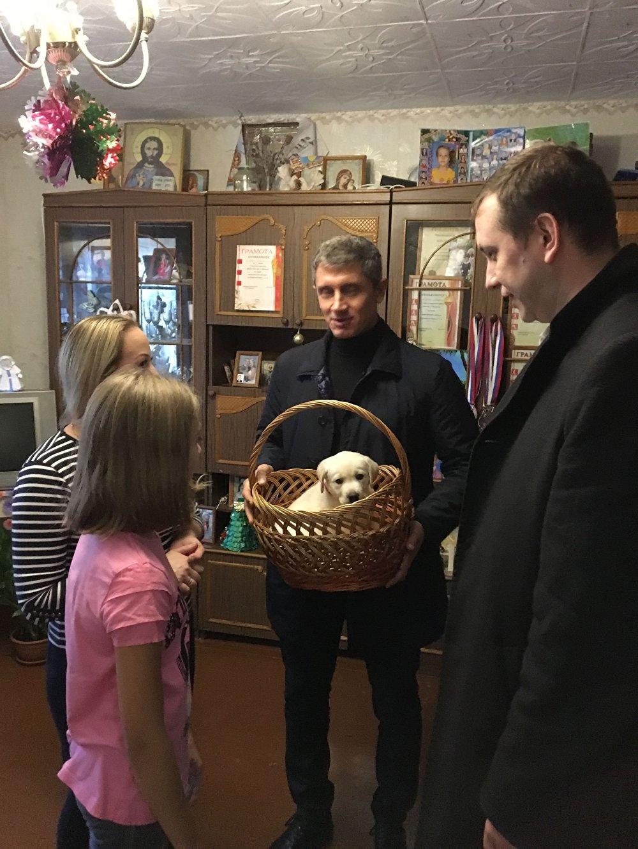 هدية بوتين للعائلة الروسية