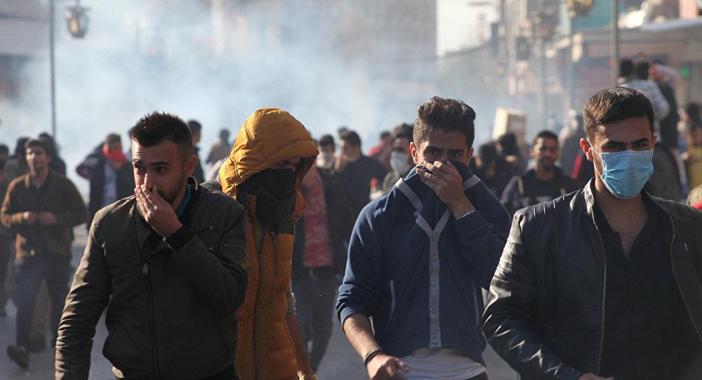 محتجون أكراد في السليمانية