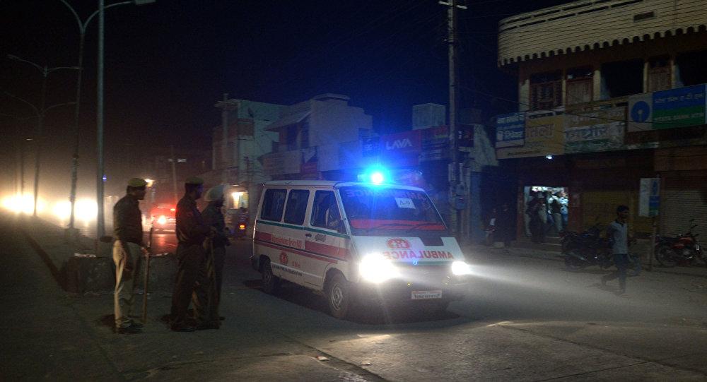 سيارة إسعاف في الهند