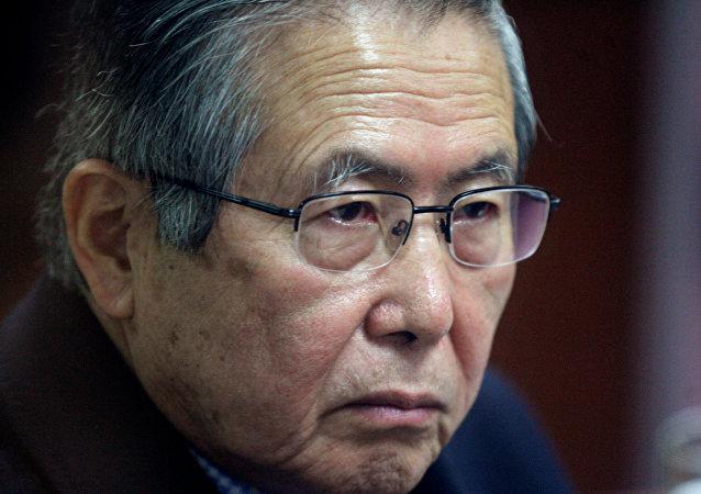 رئيس بيرو السابق ألبيرتو فوجيموري