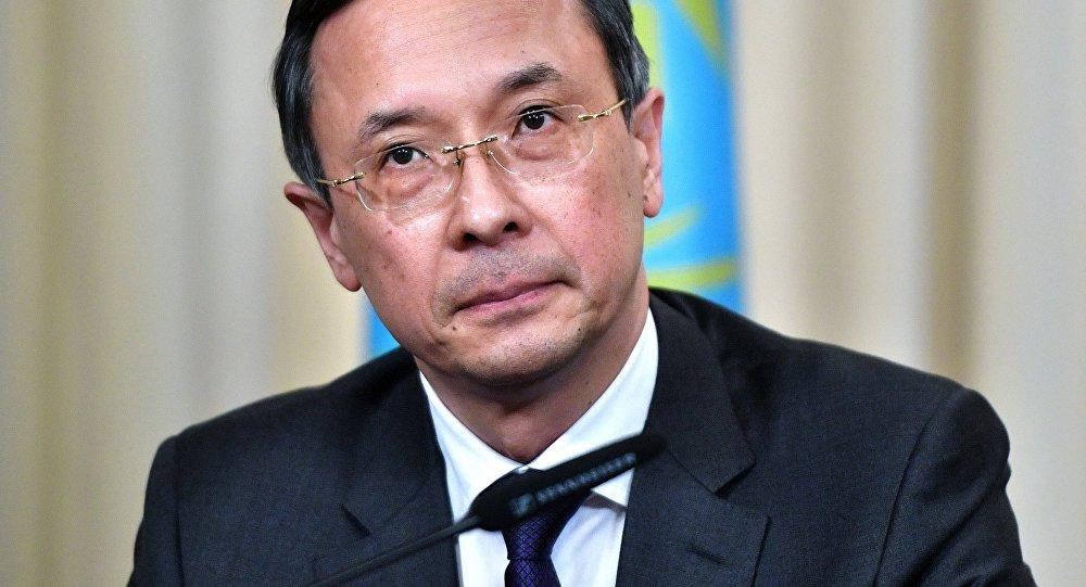 وزير الخارجية الكازاخستاني خيرات عبد الرحمانوف