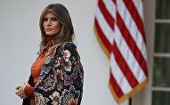 ميلانيا ترامب في البيت الأبيض