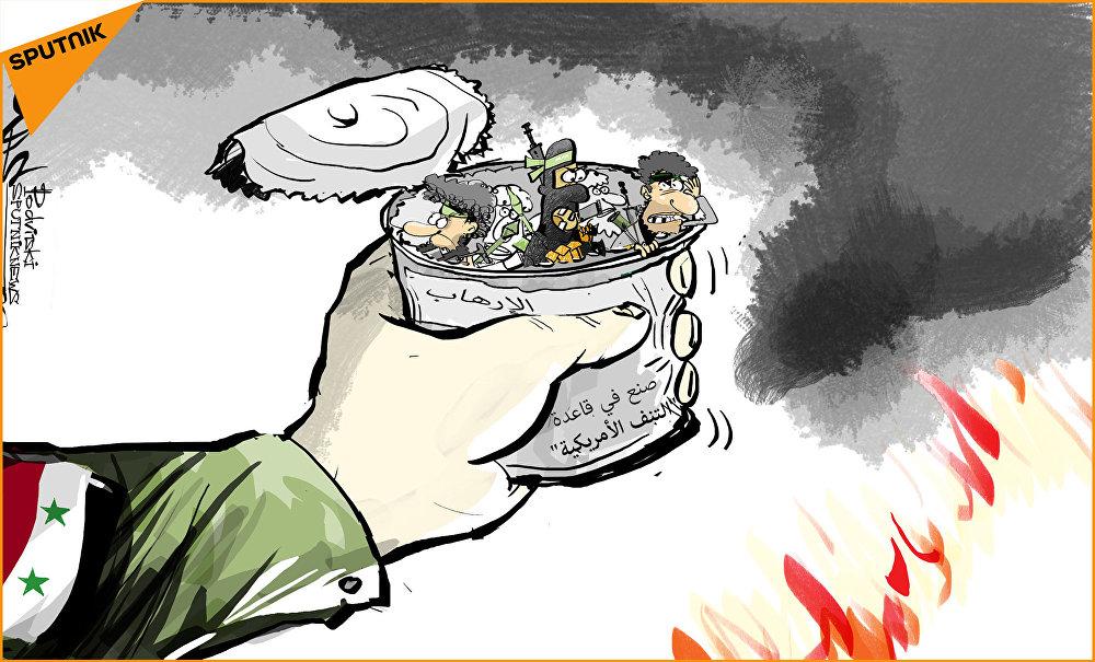 الجيش السوري يحاصر قاعدة التنف الأمريكية