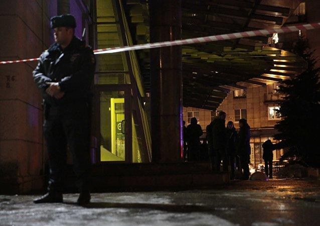 انفجار في متجر بمدينة سان بطرسبرغ 27-12-2017