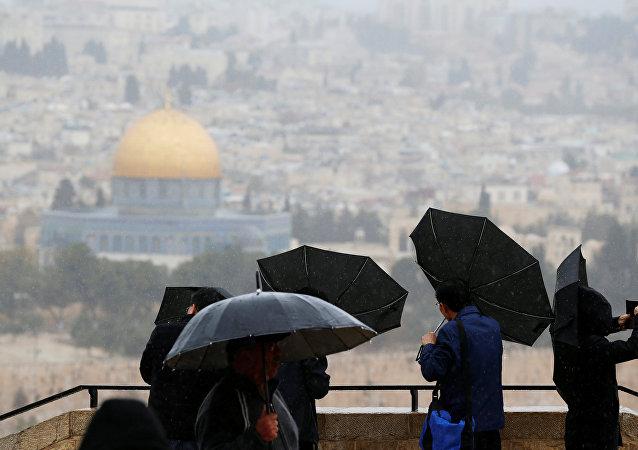 أمطار القدس