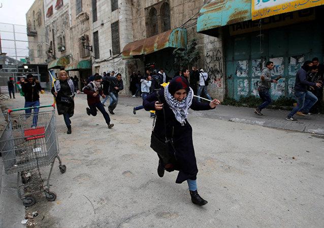 احتجاجات الضفة الغربية 29-12-2017