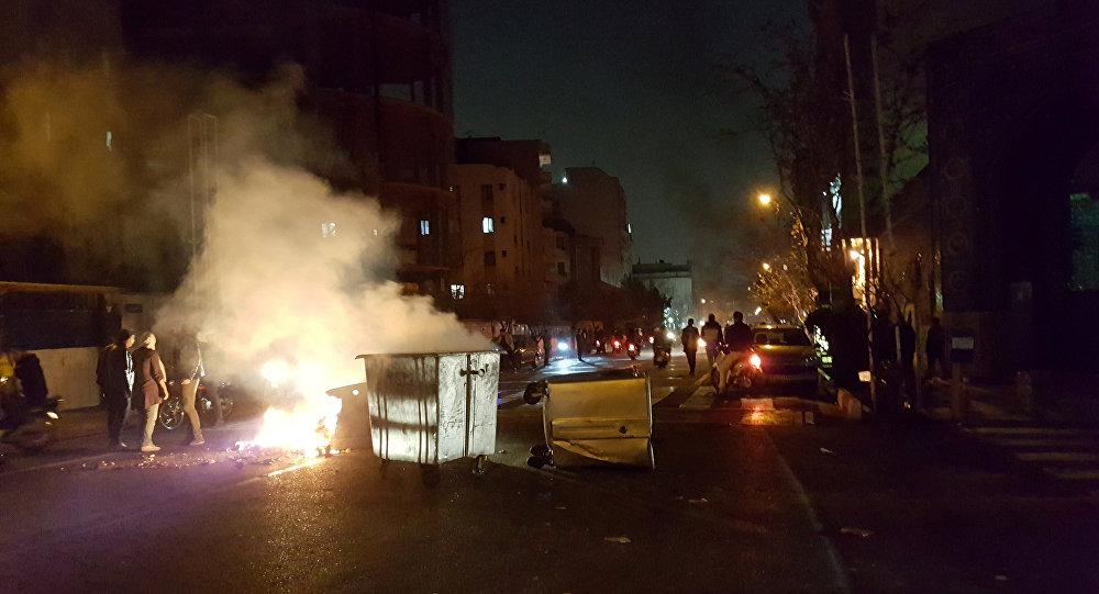 اجتجاجات في إيران