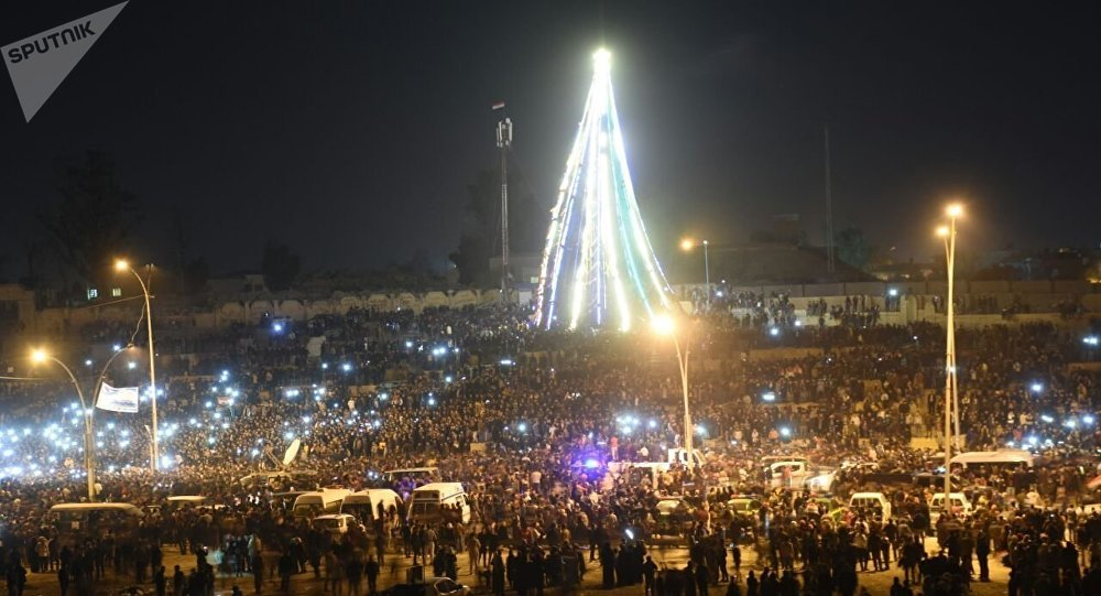 ليلة رأس السنة في العراق