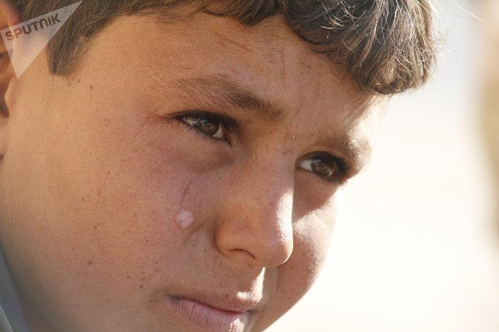 طفل من البوكمال
