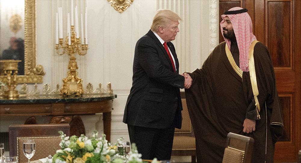 الأمير محمد بن سلمان والرئيس الأمريكي دونالد ترامب
