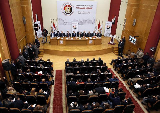اللجنة العليا لانتخابات الرئاسة في مصر، 8 يناير/كانون الثاني