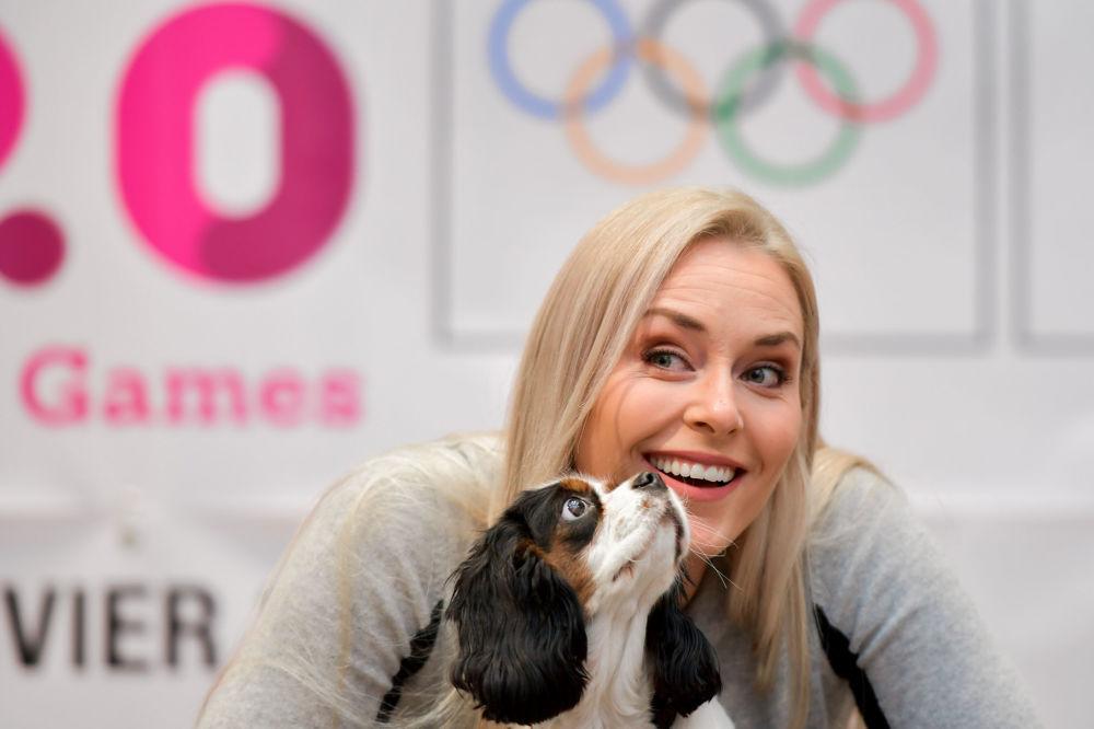 المتزلجة الأمريكية وبطلة أولمبياد عام 2010 ليندسي فون