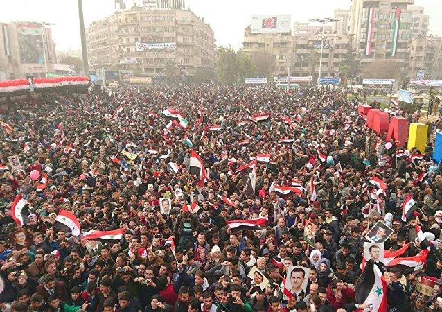 حلب خلال الاحتفالات