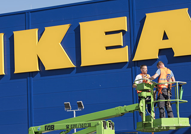 شركة إيكيا السويدية للأثاث المنزلي