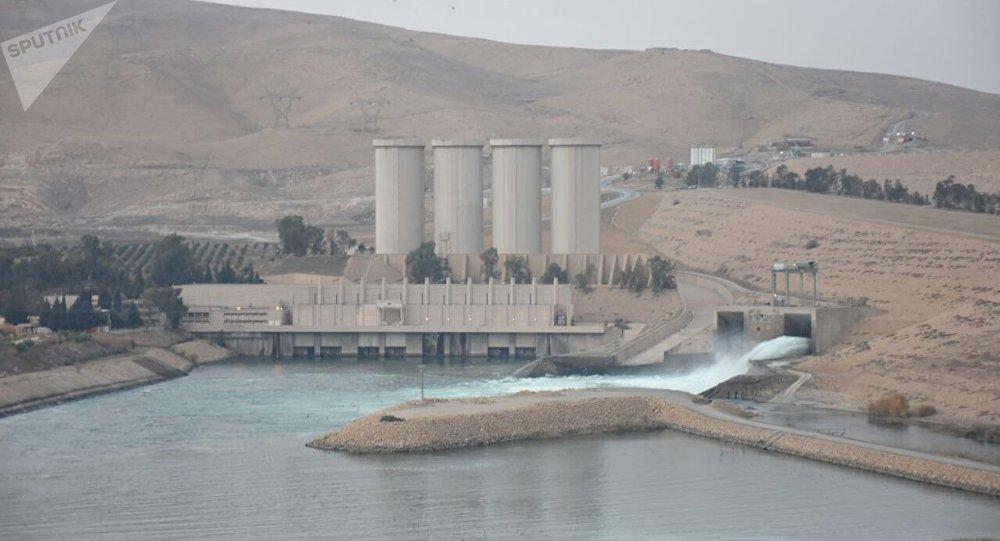 الوضع في سد الموصل العراقي