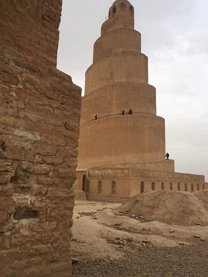 تشويه مدينة عراقية عمرها 8000 سنة