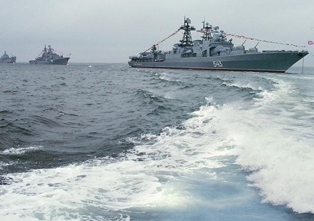 سفن الأسطول الروسي