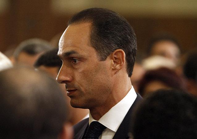 جمال مبارك نجل الرئيس المصري الأسبق