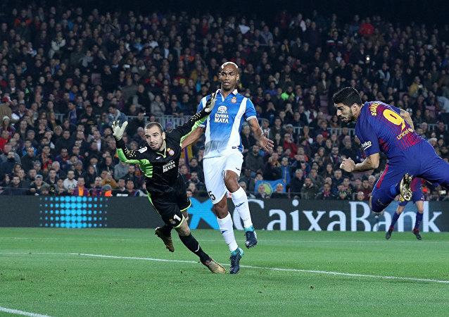 برشلونة وإسبانيول في كأس إسبانيا