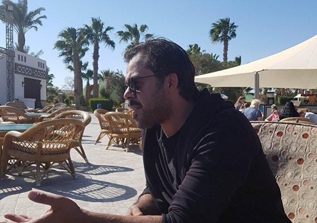 الفنان الأردني منذر ريحانة