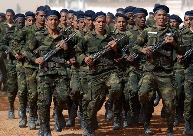 قوات البوليساريو