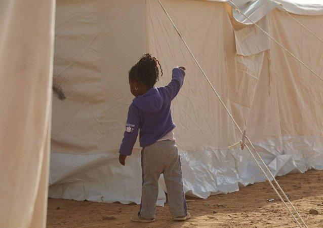 مخيم قرارة القطف لمهجري تاورغاء