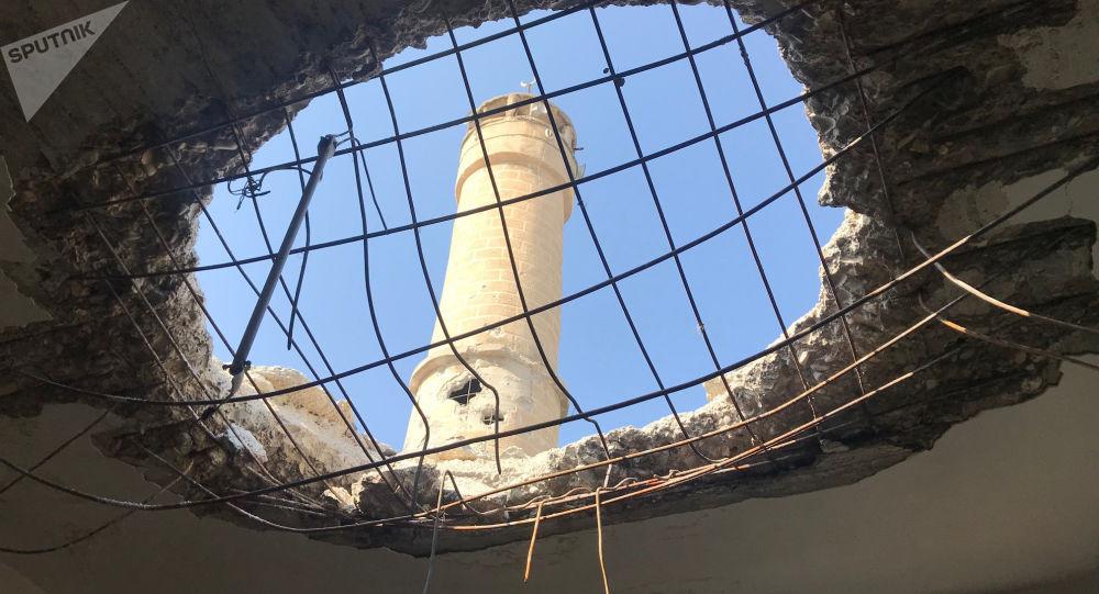 بلدة جنديرس في عفرين شمال سوريا - عملية غصن الزيتون التركية