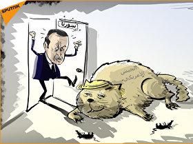 أردوغان يطارد قوات خاصة أمريكية في الصحراء السورية