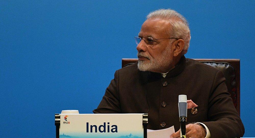 مودي رئيس الوزراء الهندي