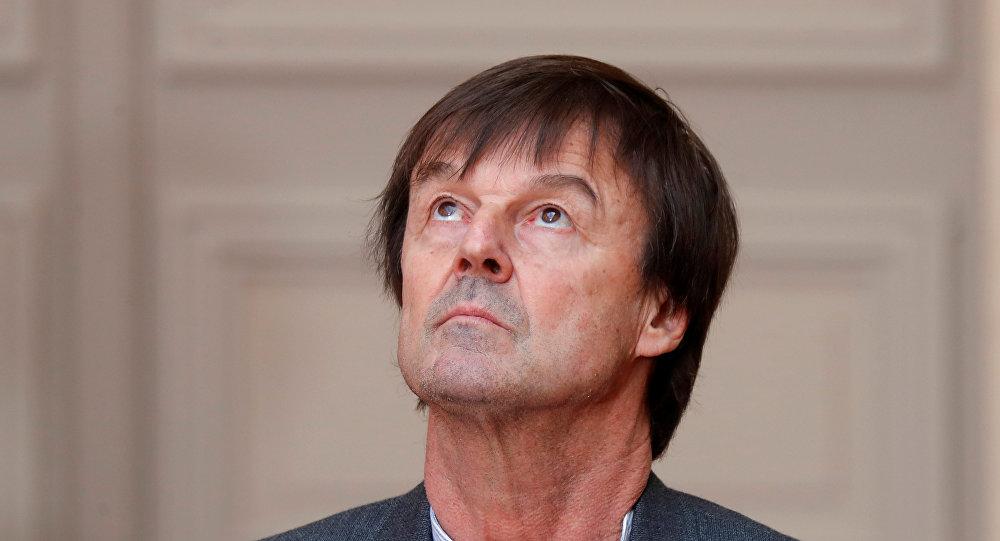 وزير البيئة الفرنسي نيكولا أولو