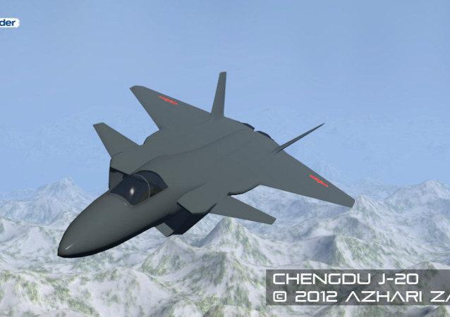 مقاتلة صينية J-20