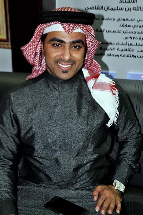 المطرب السعودي أحمد غزالة