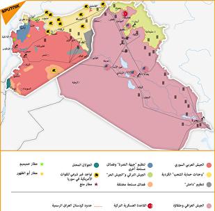 خارطة توازن القوى في سوريا والعراق