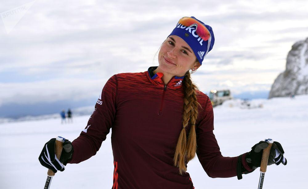 الروسية يوليا بيلوروكوفا (رياضة التزحلق على الثلج)