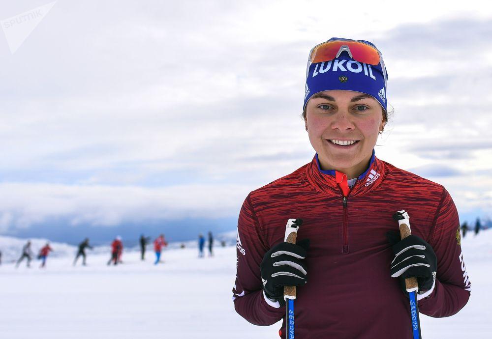الروسية أناستاسيا سيدوفا (رياضة التزحلق على الثلج)