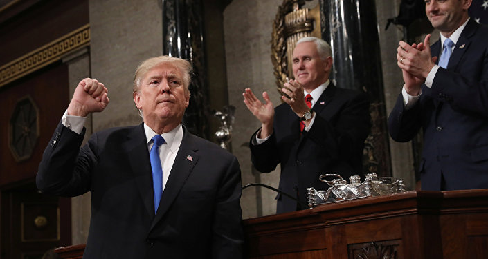ترامب يلقي خطاب الاتحاد