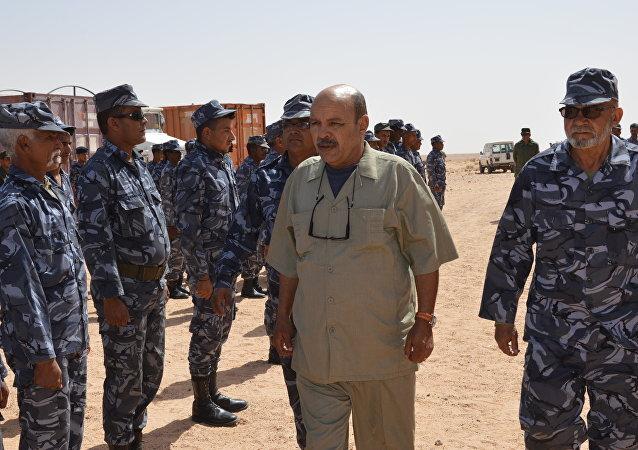 وزير الداخلية في جبهة البوليساريو مصطفى سيد البشير