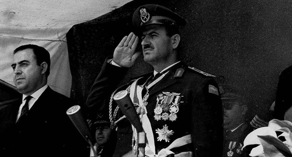 الرئيس السوري السابق حافظ الأسد