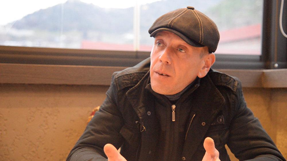 ألكسندر ريفازيشفيلي، عضو منظمة المنطقة الحرة التي أسسها الرئيس الجورجي ساكاشفيلي
