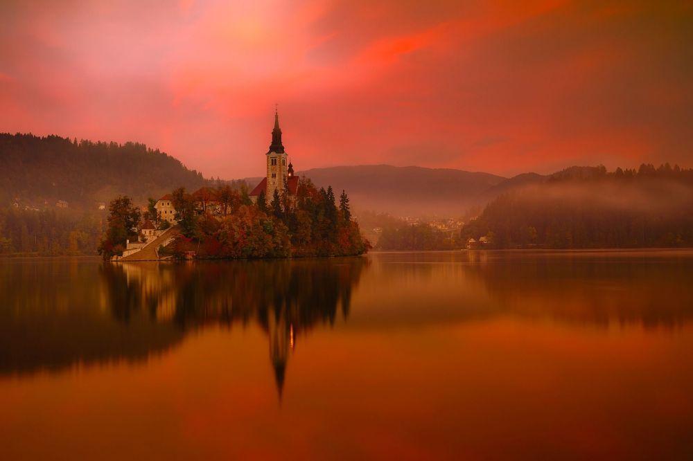 بحيرة بليد في سلوفينيا